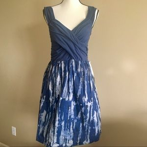 Converse One Star NEW Navy Cotton Tie Dye Dress
